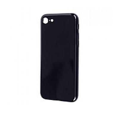 Силиконовый черный глянцевый чехол Aspor для iPhone 6/6s