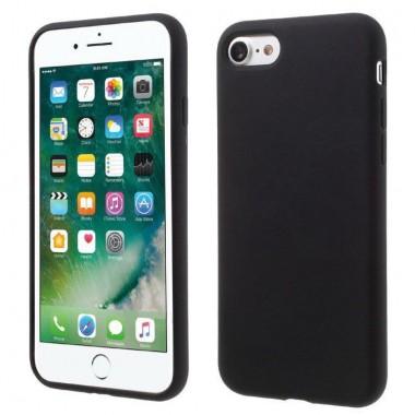 Силиконовый черный soft touch чехол Aspor для iPhone 6/6s