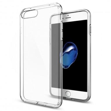 Силиконовый прозрачный чехол Aspor для iPhone 7 и 8 Plus