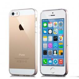 Силиконовый прозрачный чехол Aspor для iPhone 5/5s/SE