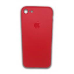 Ультратонкий красный пластиковый чехол для iPhone 7 и 8