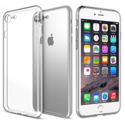 Силиконовый прозрачный чехол Aspor для iPhone 7 и 8