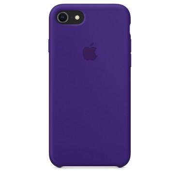 Violet Apple silicone case для iPhone 7/8