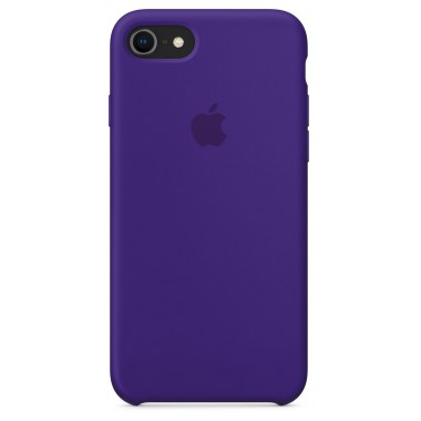 Violet Apple silicone case для iPhone 7/8