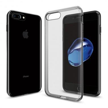 Силиконовый черный чехол Remax Crystal для iPhone 7 и 8 Plus