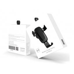 Автомобильный держатель+беспроводное зарядное устройство WUW Wireless Charger