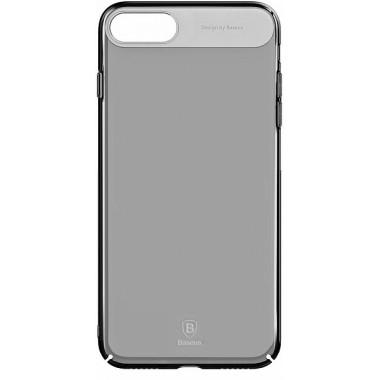 Пластиковый чехол Baseus Sky Transparent Black для iPhone 7 и 8
