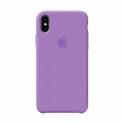 Violet Apple silicone case для iPhone Xs Max