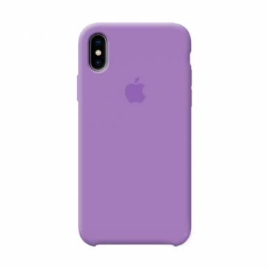 Violet Apple silicone case для iPhone Xs Max