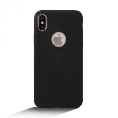 Черный силиконовый чехол OU Case для iPhone Xs Max