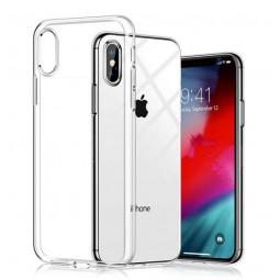 Прозрачный силиконовый чехол Aspor для iPhone X и Xs