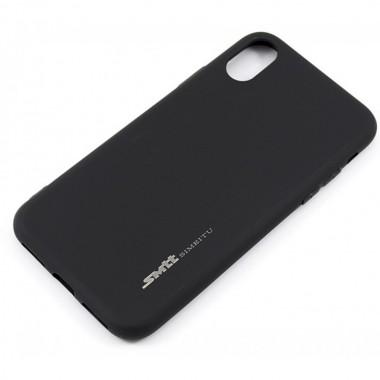 Силиконовый чехол SMTT Soft Touch для iPhone Xs Max черный