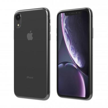 Силиконовый прозрачно-черный чехол Hoco Light series TPU для iPhone Xr