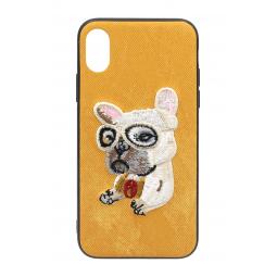 Коричневый чехол iPefet Dog для iPhone для iPhone X и Xs
