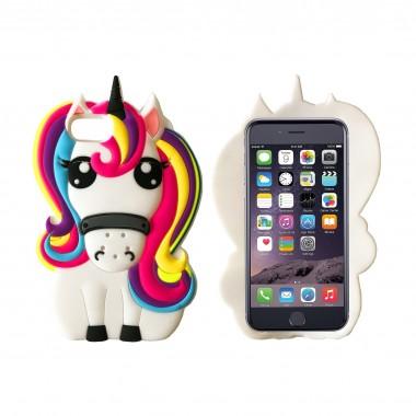 Силиконовый чехол Disney Unicorn для iPhone 7 и 8