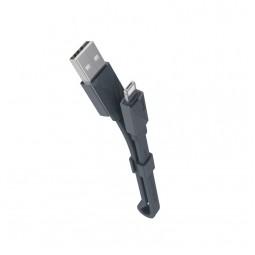 Micro+Lightning кабель Hoco LingYing DualUse 0,25м