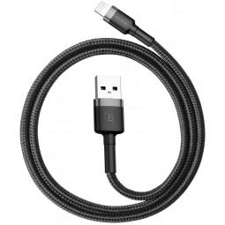 Lightning USB Кабель Baseus Cafule 2.4A черный
