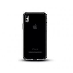 Прозрачно-черный силиконовый чехол Usams Jam для iPhone X и Xs