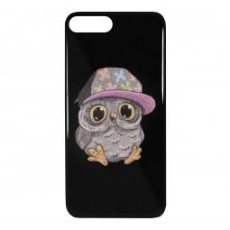 Силиконовый чехол Owl Boy для iPhone X и Xs