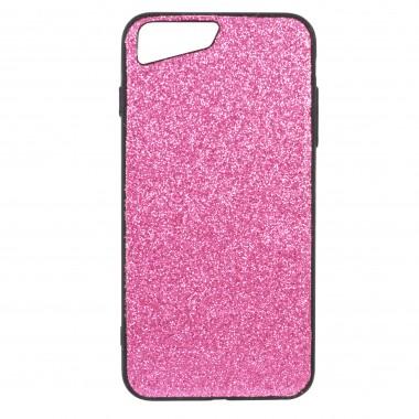 Блестящий розовый чехол для iPhone 7 и 8 Plus