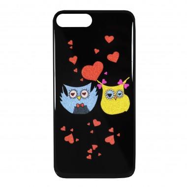 Силиконовый чехол Owl для iPhone 7+ и 8+