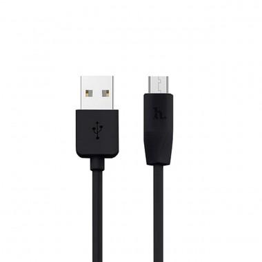 Micro USB кабель Hoco X1 черный