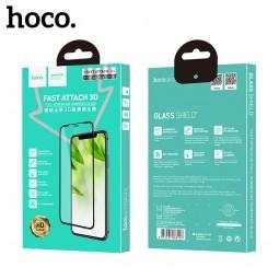Защитное стекло Hoco Fast attach 3D full-screen HD для iPhone Xr/11