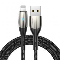 Lightning USB кабель Baseus Horizontal (With An Indicator Lamp)