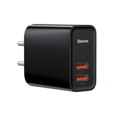 Сетевое зарядное устройство Baseus BASEUS Speed QC3.0 USB+USB 30W