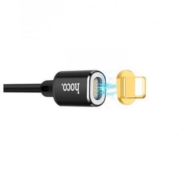 Lightning USB кабель Hoco U28 Magnetic adsorption