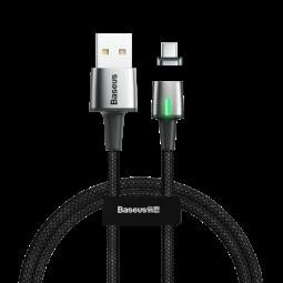Type-C Data кабель BaseusZinc Magnetic 3A черный