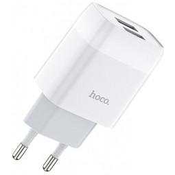 Сетевое зарядное устройство Hoco C72A Glorious single