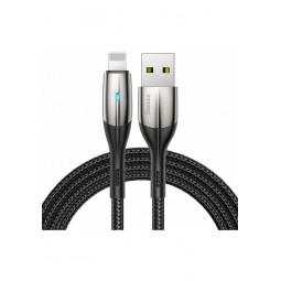 Lightning USB кабель Baseus Horizontal With An Indicator Lamp