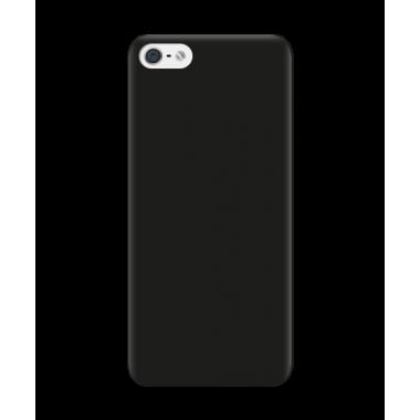 Черный силиконовый чехол Aspor для iPhone 5/5s/SE