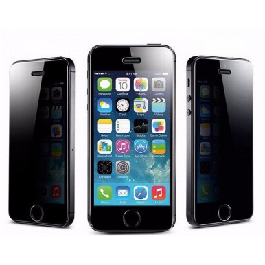 Защитное стекло на экран Шпион для iPhone 5/5s/SE