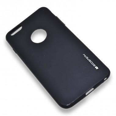 """Силиконовый черный чехол """"Goospery Soft Tuch"""" для iPhone 6+/6s+"""