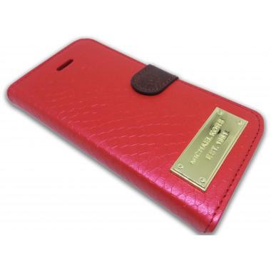 "Чехол-книжка ""Michael Kors"" красная для iPhone 6+/6s+"