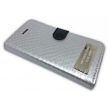 "Чехол-книжка ""Michael Kors"" бежевая для iPhone 5/5s/SE"
