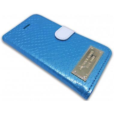 """Чехол-книжка """"Michael Kors"""" голубая для iPhone 5/5s/SE"""
