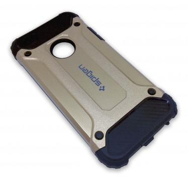 Антиударный золотой чехол Spigen Slim Iron для iPhone 5/5s/SE