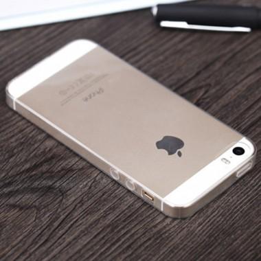Силиконовый прозрачный чехол для iPhone 5/5s/SE