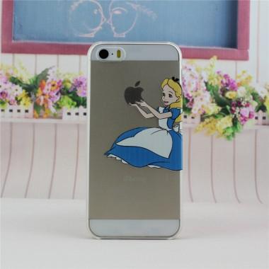"""Пластиковый чехол """"Золушка"""" для iPhone 5/5s/SE"""