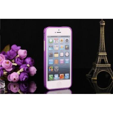 Металлический фиолетовый бампер для 5/5s/SE