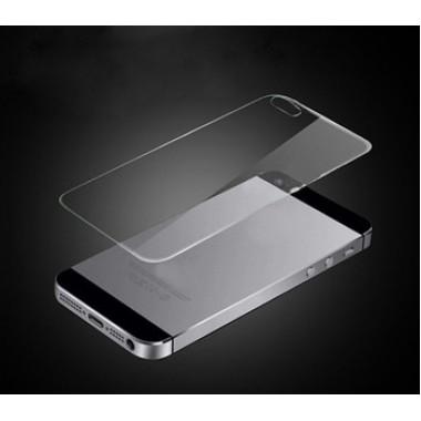 "Заднее защитное стекло ""Remax Plus"" для iPhone 5/5s/SE"