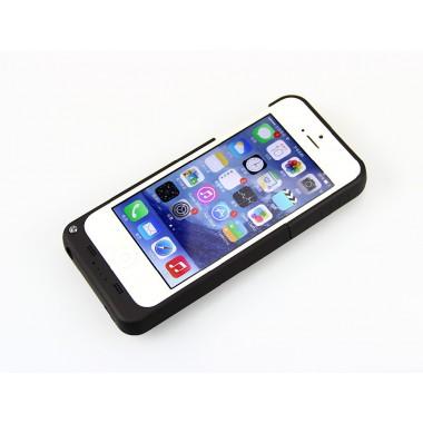"""Чехол """"Power case"""" 2200 mAh черный для iPhone 5/5s/SE"""