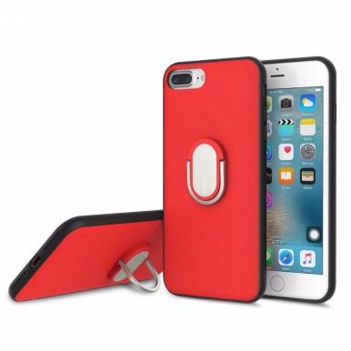 Чехол Rock Ring Holder Case M1 с подставкой для iPhone 7 и 8 красный