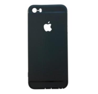 Тонкий черный силиконовый чехол Apple для iPhone 7