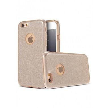 Золотой чехол Shine для iPhone 5/5s/SE