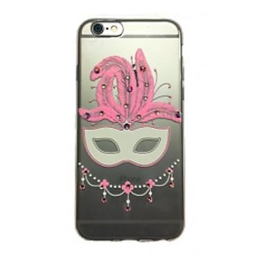 Силиконовый чехол Bonjour Swarovski Mask для iPhone 7 и 8