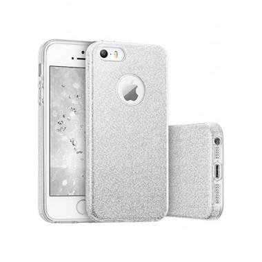 Серебряный чехол Shine для iPhone 5/5s/SE